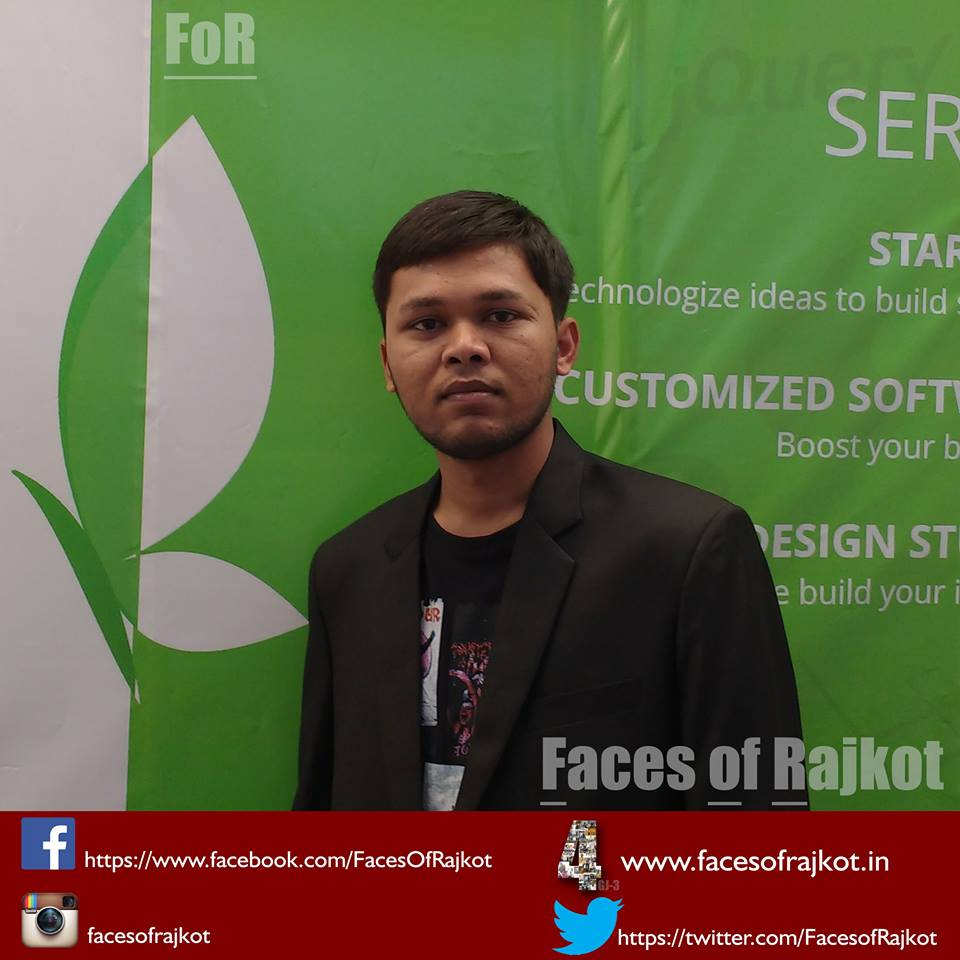 Pratik Butani - Faces of Rajkot