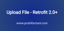 Upload File - Retrofit 2.0+